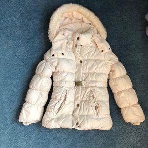 4/$20 OshKosh B'gosh Hooded Jacket Size 7 White